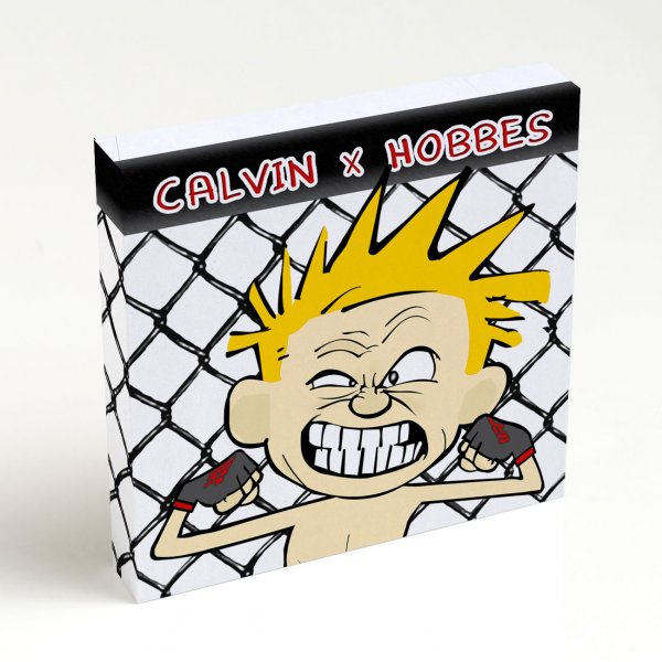 Quadro Quadrado - Calvin x Hoobes 4