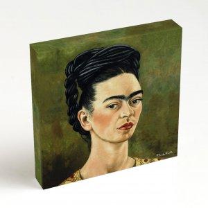 Quadro Quadrado – Frida Autorretrato