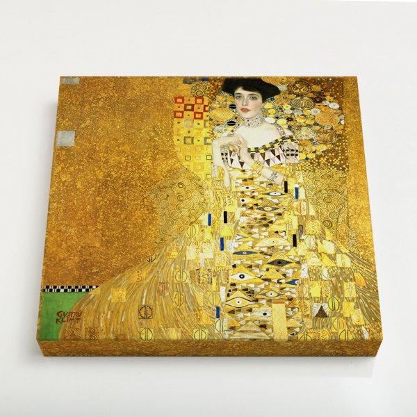Quadro Quadrado - Retrato de Adele Bloch-Bauer I 3