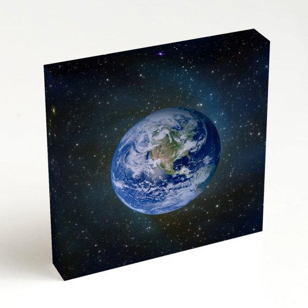Quadro Quadrado - Planeta Terra 4