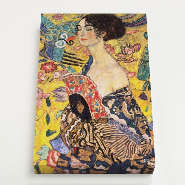 Quadro Canvas - Lady with Fan 4