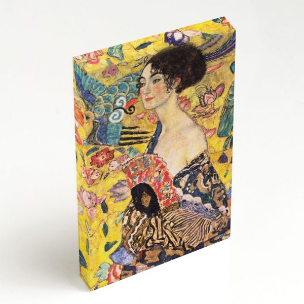 Quadro Canvas - Lady with Fan 6