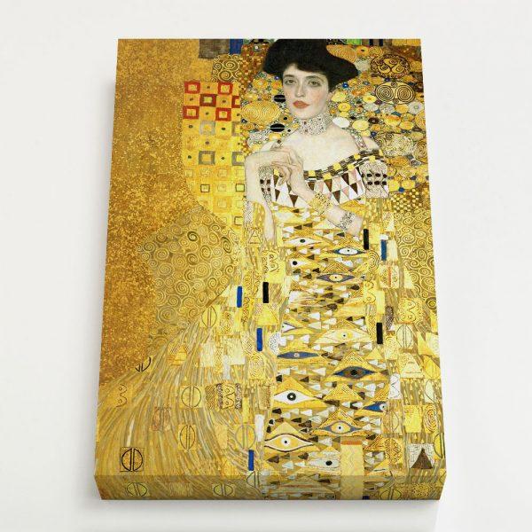 Quadro Canvas - Retrato de Adele Bloch-Bauer I 4