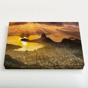 Quadro Canvas – Zona Sul do Rio de Janeiro