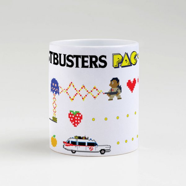 Caneca - Ghostbuster Pac-Man 4