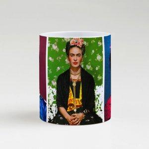 Caneca – Frida Kahlo Mosaico