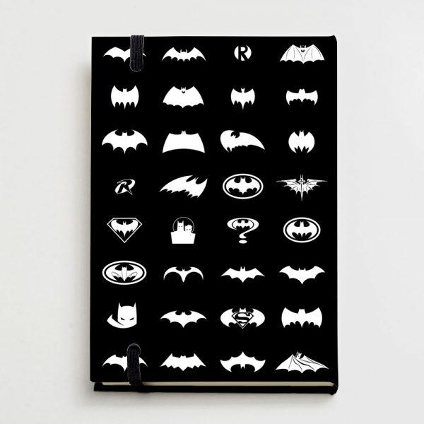 Moleskine 21x14cm - Pattern Batman 4