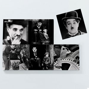 Porta Copos Magnéticos – Charlie Chaplin