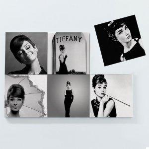 Porta Copos Magnéticos – Audrey Hepburn