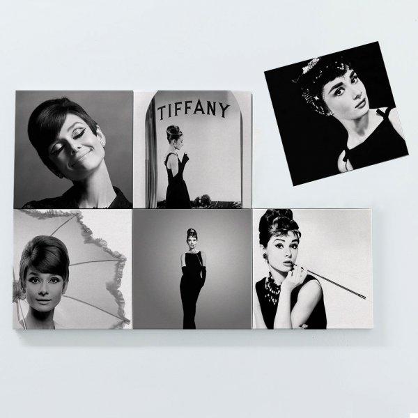 Porta Copos Magnéticos - Audrey Hepburn 3