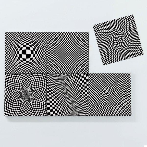 Porta Copos Magnéticos - Formas Geométricas 3
