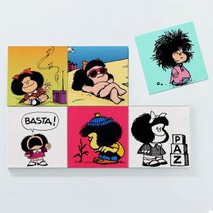 Porta Copos Magnéticos – Mafalda 1