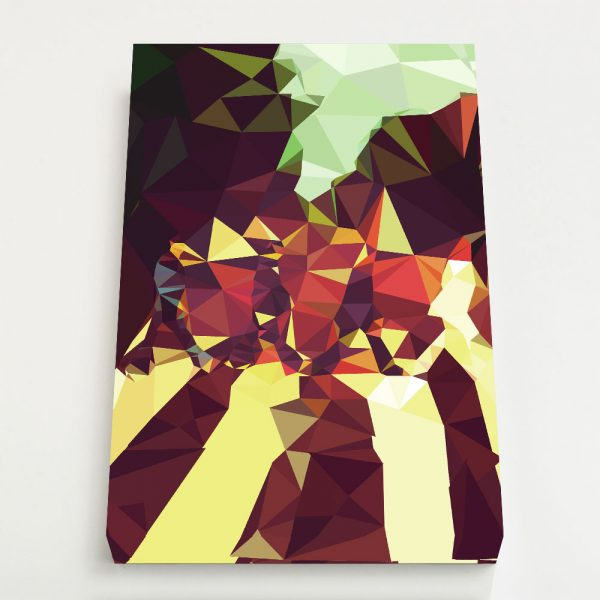 Quadro Canvas - Geometric Abbey Road 4