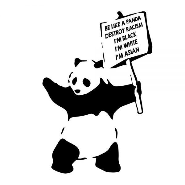 Camisa Feminina - Be Like a Panda 4