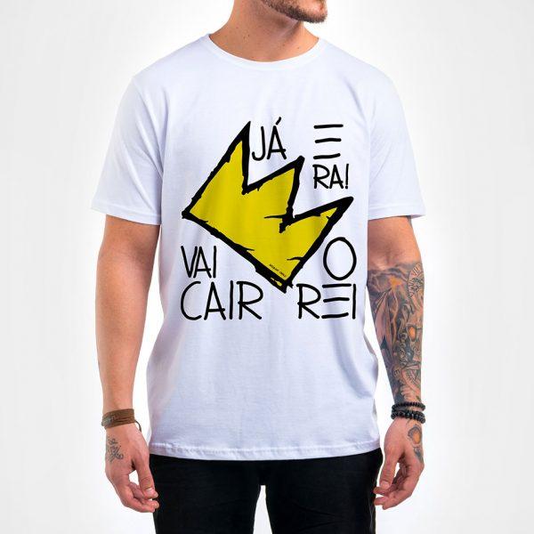 Camisa Masculina - Vai Cair o Rei 3