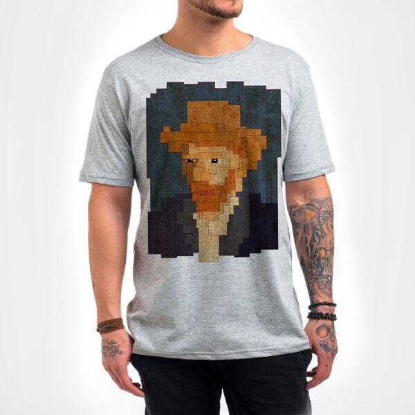 Camisa - Van Gogh 8 bit 7