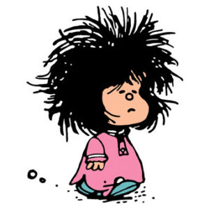 Camisa Feminina- Bom Dia Mafalda