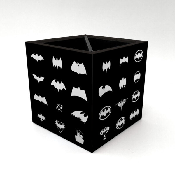 Porta Controle Pattern Batman 4