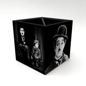 Porta Controle Charlie Chaplin