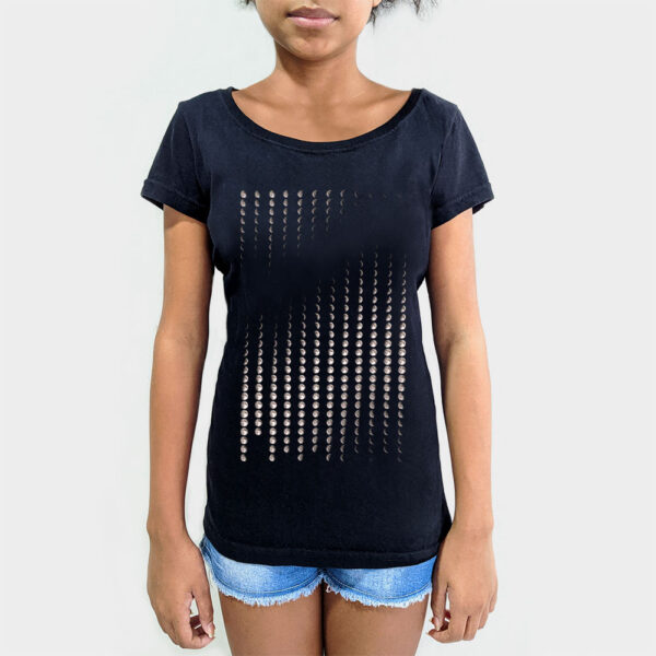 Camisa Feminina - Calendário Lunar 3