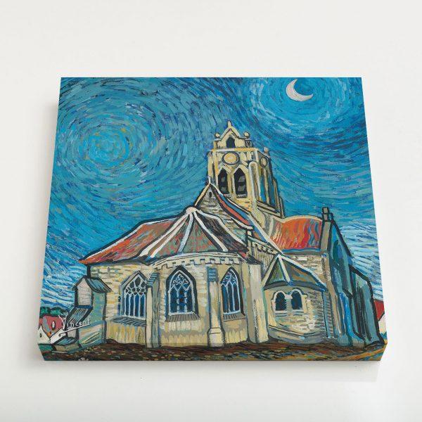 Quadro Canvas - A Igreja em Auvers 3