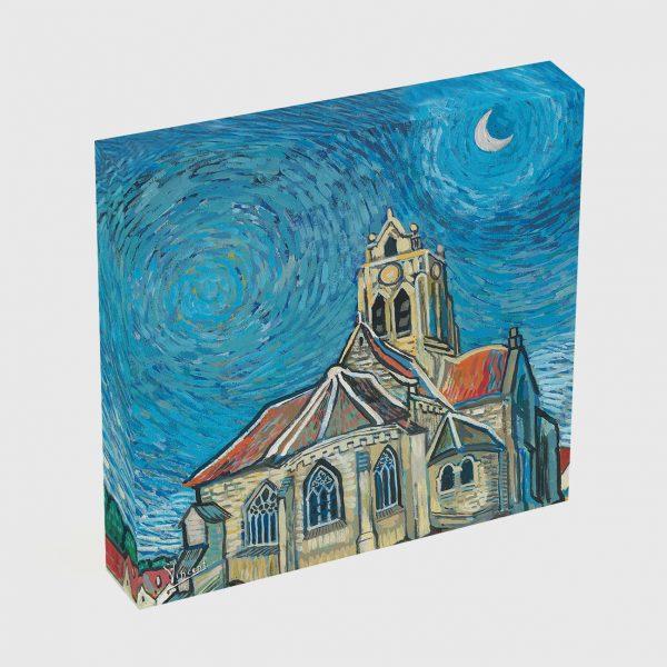 Quadro Canvas - A Igreja em Auvers 6